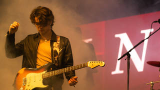 Inhaler frontman Elijah Hewson at Electric Picnic Music Festival 2019