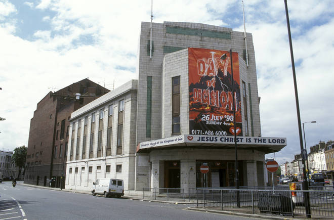 The Rainbow Theatre in 1998