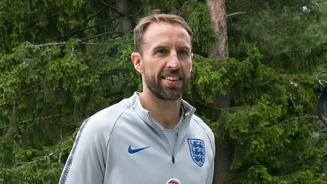 Gareth Southgate arrives at Repino Cronwell Park