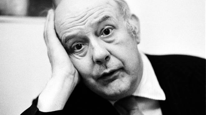 John Betjeman photographed in Chelsea in 1974, around the time he recorded his Banana Blush album