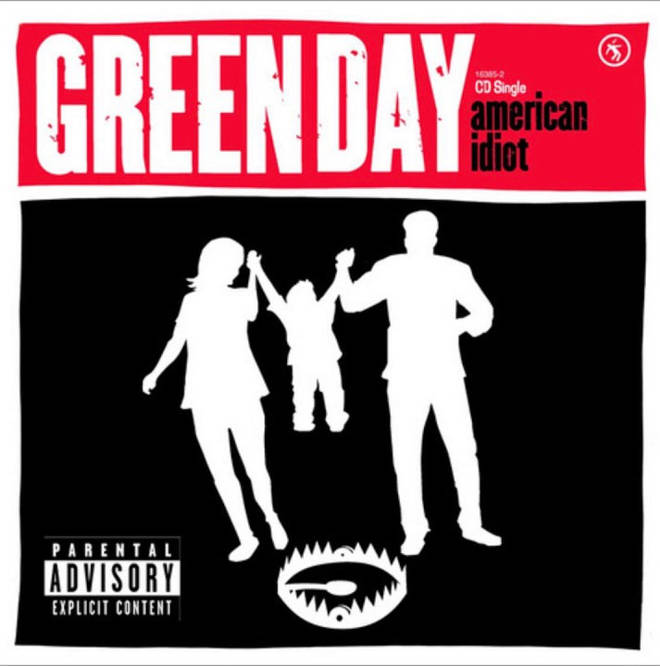 Green Day's American Idiot single