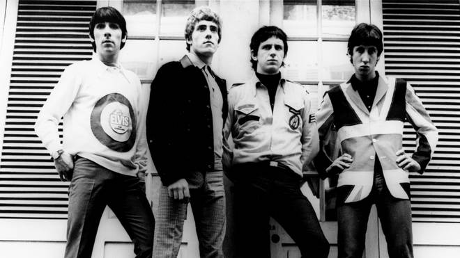 Keith Moon, Roger Daltrey, John Entwistle, and Pete Townshend of The Who in 1965