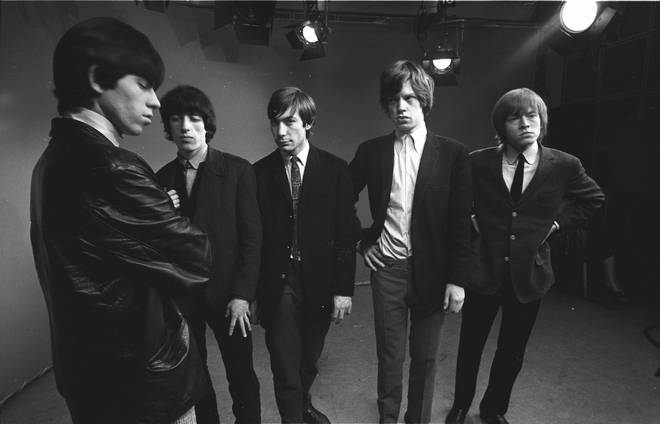 Keith Richards, Bill Wyman, Charlie Watts, Mick Jagger, Brian Jones in 1963