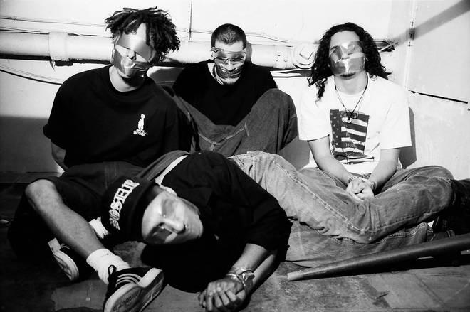 Rage Against the Machine in June 1992