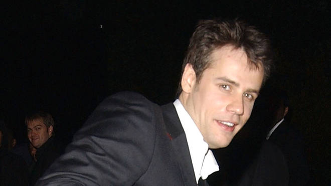 Richard Bacon at the Kill Bill premiere in 2004