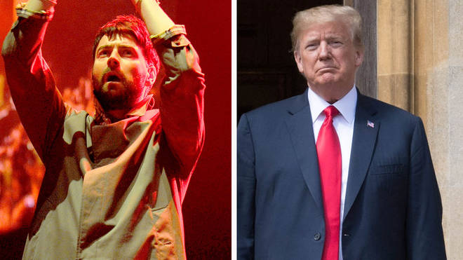 Liam Fray and President US Donald Trump