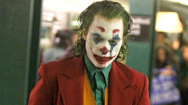 Joaquin Phoenix as The Joker, 2018