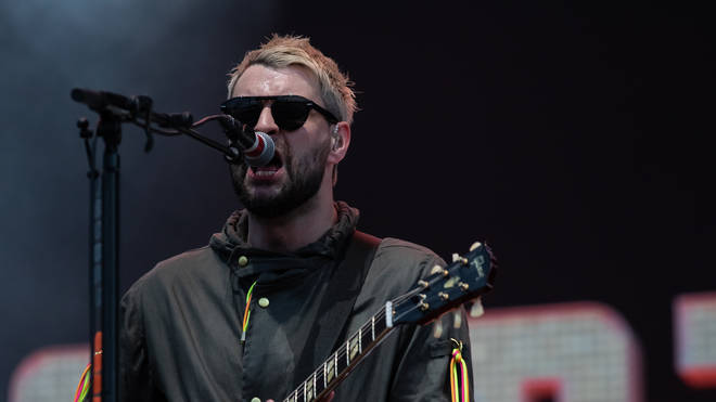 Liam Fray of Courteeners performs on stage during Isle of Wight Festival 2019