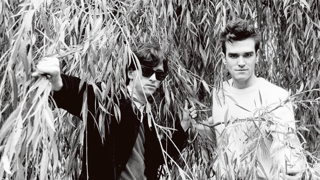 The Smiths in 1983: Johnny Marr and Morrissey