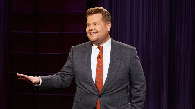 James Corden on The Late Late Show with James Corden...