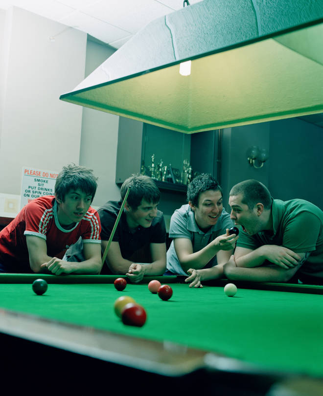 Arctic Monkeys in 2006: Alex Turner, Jamie Cook, Matt Helders and Andy Nicholson.