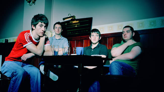 Arctic Monkeys in 2006: singer Alex Turner, drummer Matt Helders, guitarist Jamie Cook and bassist Andy Nicholson.