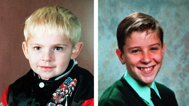 The Warrington IRA bomb victims Jonathan Ball (left) and Tim Parry
