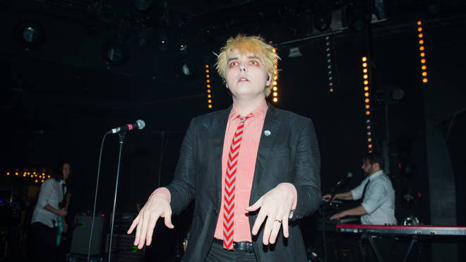 Gerard Way performs at the Trabendo in Paris in January 2018