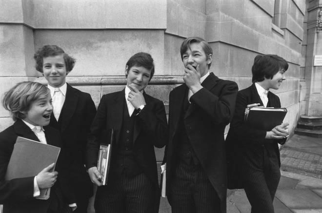 Eton boys, 1978