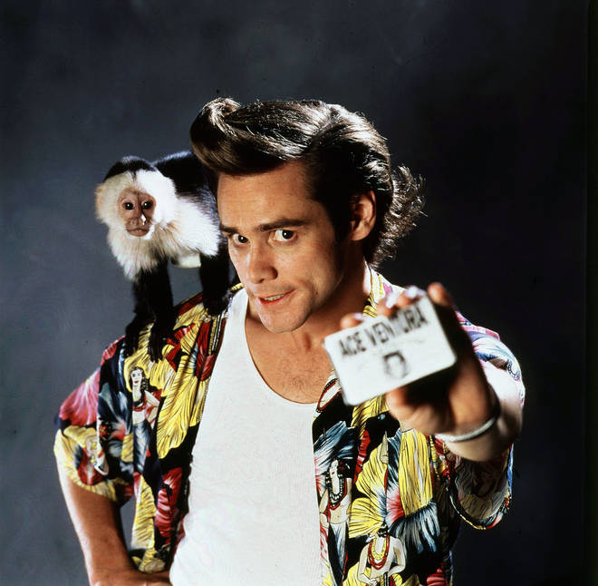 Jim Carrey in Ace Ventura Pet Detective (1994)