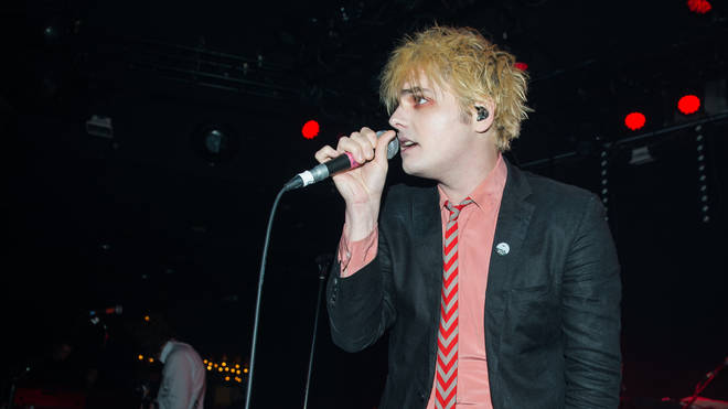 Gerard Way Performs At The Trabendo In Paris