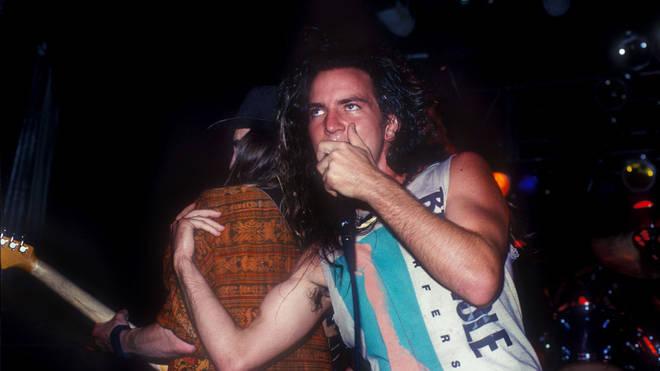Pearl Jam's Eddie Vedder in 1991