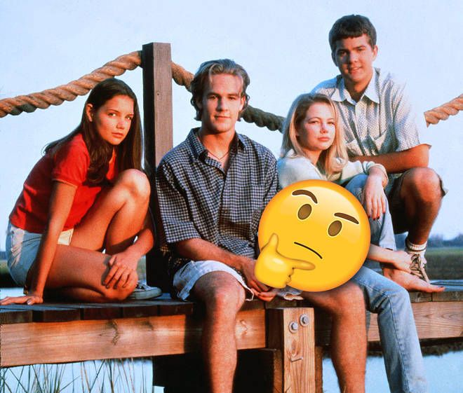 Mystery 1990s TV show