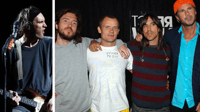 John Klinghoffer and Red Hot Chili Peppers' John Frusciante, Flea, Chad Smith