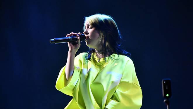 Billie Eilish at Spotify Hosts Best New Artist Party 2020