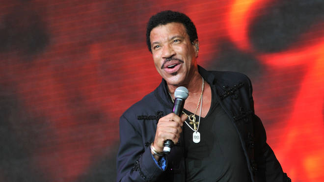 Lionel Richie performs live on the Pyramid stage during the third day of Glastonbury Festival at Worthy Farm, Pilton on June 28, 2015