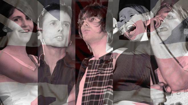 Elastica, Suede, Oasis, Echobelly and Blur