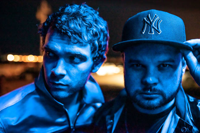 Royal Blood's Mike Kerr and Ben Thatcher