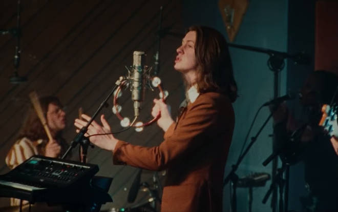 Blossoms' Tom Ogden in the band's If This Is Real Life video