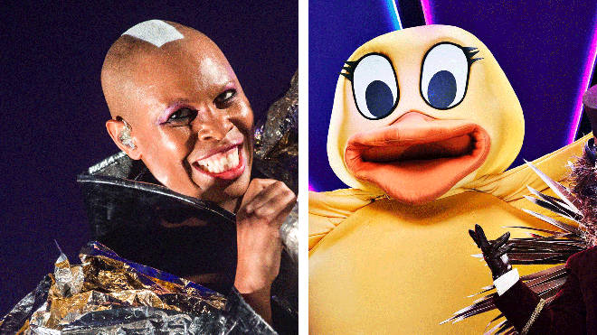 Skunk Anansie's Skin and The Duck from The Masked Singer