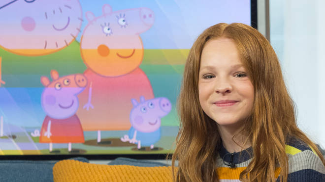 Harley Bird, the third voice of Peppa Pig