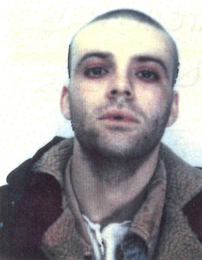 The last known picture of missing Manic Street Preacher Richey Edwards, January 1995