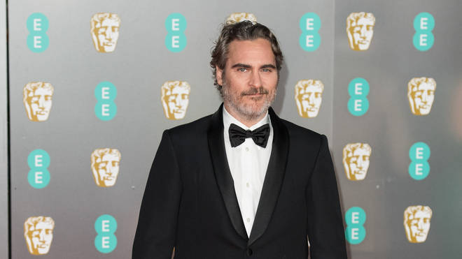 Joaquin Phoenix attends the EE British Academy Film Awards 2020