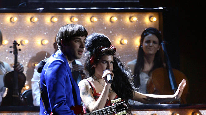 Mark Ronson and Amy Winehouse in 2008