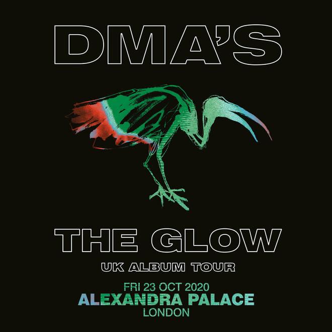DMAs UK tour poster