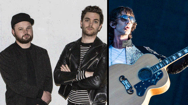 Royal Blood and Richard Ashcroft