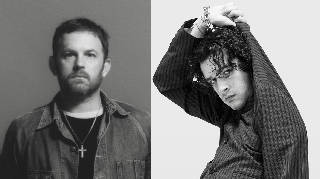 Kings of Leon's Caleb Followill and The 1975's Matty Healy