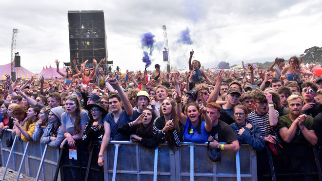 Reading Festival 2018 crowd in day one