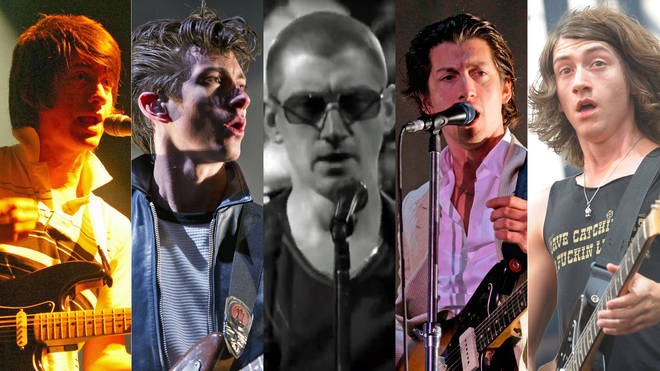 Alex Turner through the years