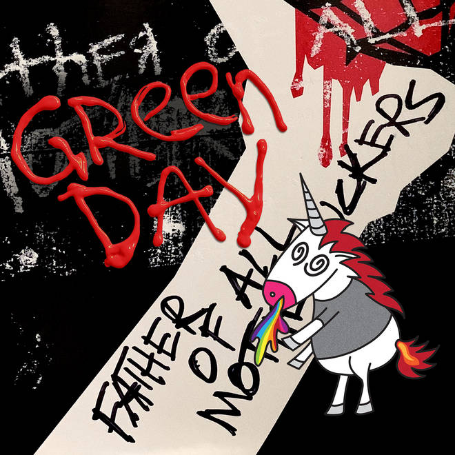 Green Day - Father Of All Motherf**kers album cover