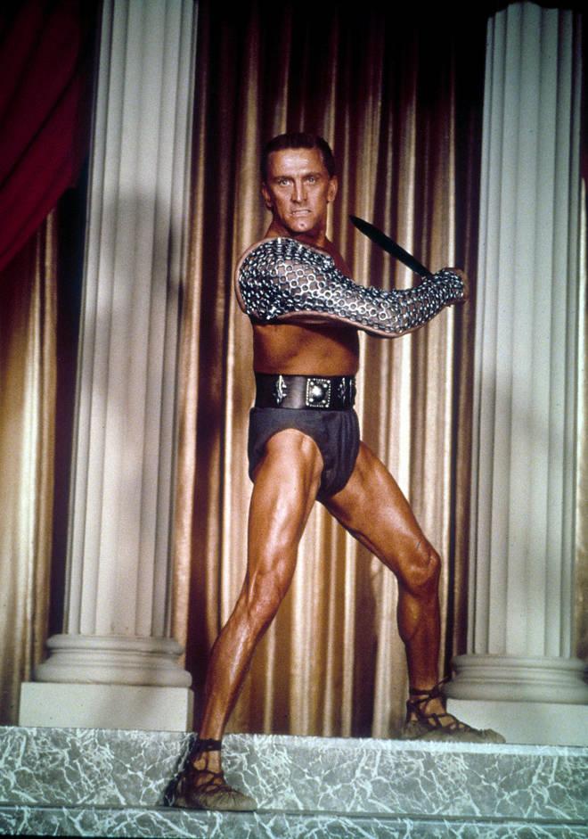Kirk Douglas In Spartacus, 1960