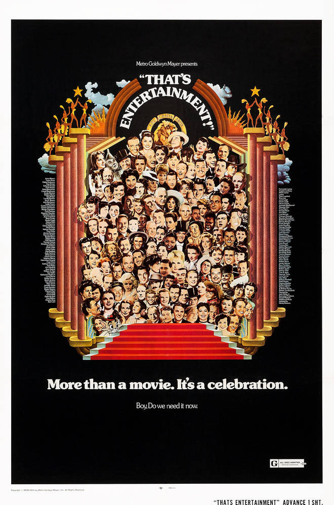 That's Entertainment poster, 1974