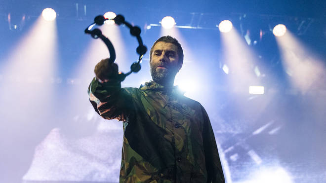 Liam Gallagher performs live in concert at the Ericsson Globe Arena on February 2, 2020