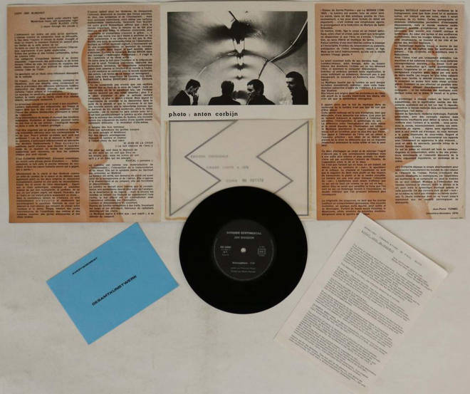 The rare Joy Division Sordide Sentimental single that's gone up for auction