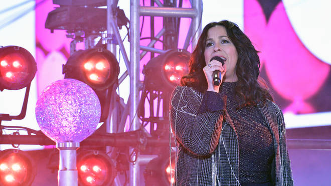 Alanis Morissette at Dick Clark's New Year's Rockin' Eve With Ryan Seacrest 2020