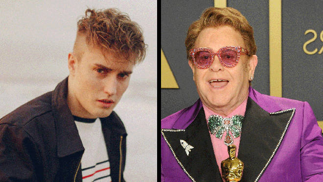 Sam Fender and Elton John