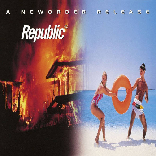 New Order - Republic cover