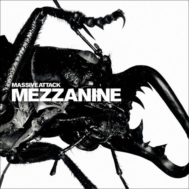 Massive Attack - Mezzanine cover