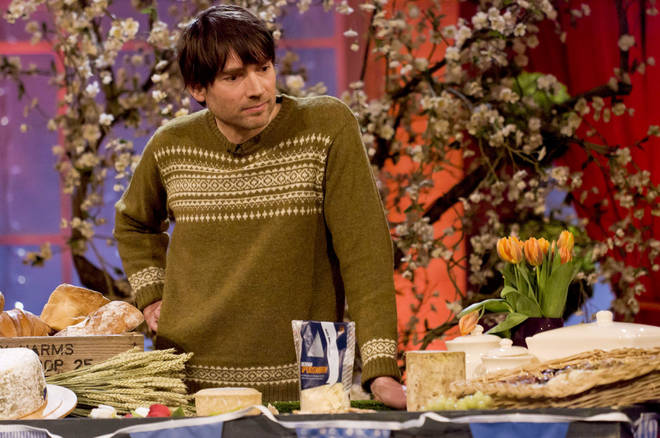 Alex James, the indie king of the cheese - but what's his brand of fermented curd called?