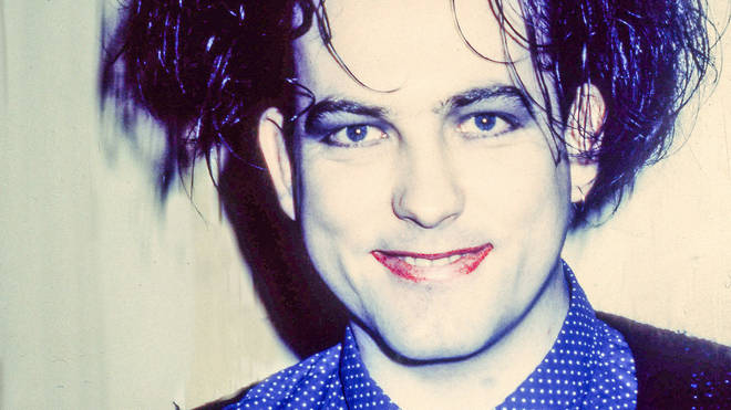 Robert Smith of The Cure in 1989